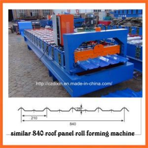 Dx Metal Glavanized Roof and Wall Panel Roll Forming Machine pictures & photos