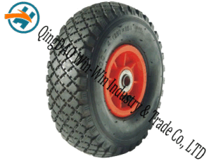 Pneumatic Rubber Wheel Used on Castor Wheel (10*3.00-4) pictures & photos