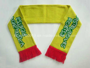 Custom Football Soccer Sports Fan Scarf (DH-LH72911) pictures & photos