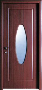 Frosted Glass Bathroom PVC Door (WX-PW-161) pictures & photos