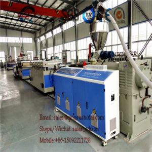 PVC Board Machine with TUV SGS Ce Certification pictures & photos