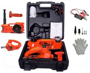 Car Emergency Tool Kit 12V Mini Electric Car Jack pictures & photos