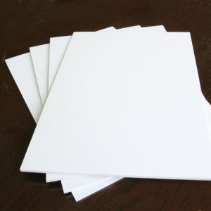 Plastic PVC Rigid Sheet for Engraving and Printing Advertisement Material pictures & photos