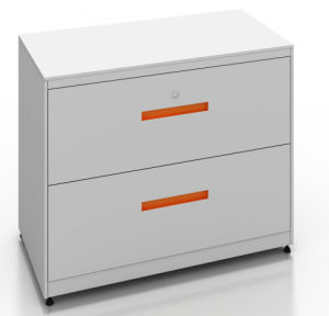 Square Series Steel 2-Drawers Lateral Filing Cabinet (SQ-2D) pictures & photos
