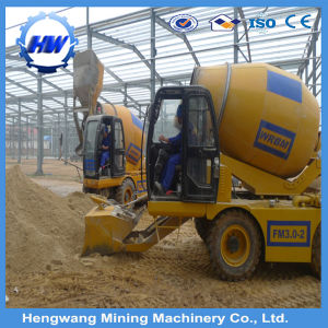 Mini Self Loading Mobile Hydraulic Diesel Concrete Mixer Truck pictures & photos