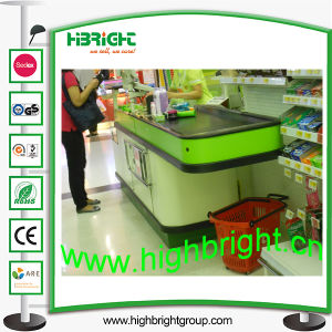 Shop Retail Counter Table with Conveyor Belt pictures & photos