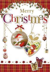 New Design Christmas Greeting Cards (CB20-005)
