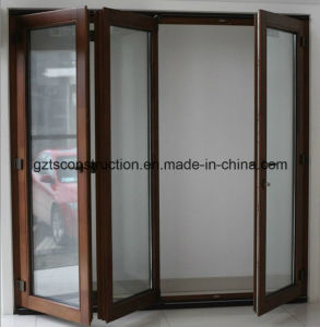 68 Series Wood Folding Door (TS-347) pictures & photos
