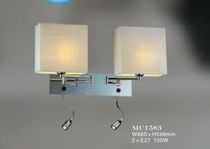 Guzhen Lighting Elegance Beside Wall Light with Double Light pictures & photos