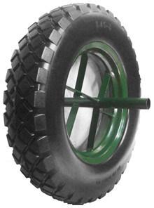 PU Wheels for Wheel Barrow Hand Trolley Tool Cart PU1409