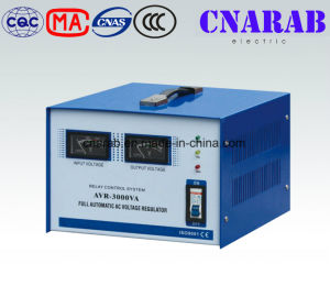 Single Phase Relay Type Stabilizer, Meter Display Electromechanical Control Stabilizer pictures & photos
