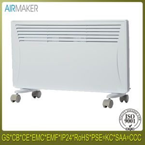 Touch Screen Wall Mounted Electric Heat Slim Curved Glass Convector Heater pictures & photos