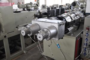 PVC Pipe Production Line/PVC Pipe Making Machine/ PVC Pipe Extruder/ PVC Pipe Machine pictures & photos