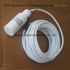PTFE Material Anticorrosive Static Pressure Type Level Sensor pictures & photos