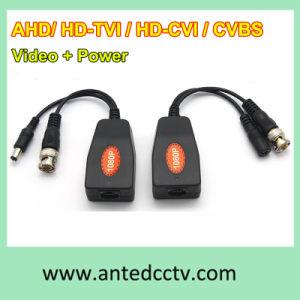 1 Channel Passive HD-Tvi Cvi Ahd Cvbs UTP Video + Power Transceiver HD Coaxial Balun pictures & photos