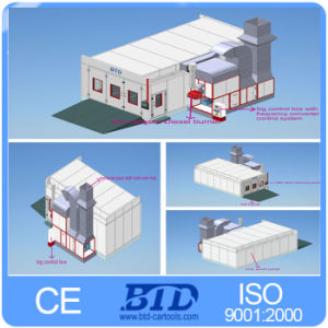 Auto Garage Equipment Energy Saving Spray Booth with CE pictures & photos