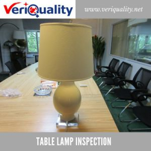 Table Lamp Quality Control Inspection Service at Dongguan, Guangdong pictures & photos