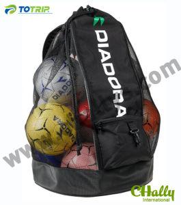 Large Mesh Drawstring Soccer Ball Bag