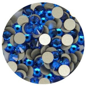 1440PCS Rhinestone Flatbacks Crystal Ss10 (2.8mm) Capri Blue No Hotfix pictures & photos
