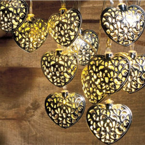 12 LED Solar Decoration Heart String Light (RS1003) pictures & photos