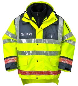 300d Polyester Oxford Reflective Tape Safety Vest, Workwear, Raincoat pictures & photos