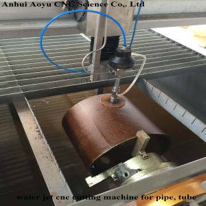 Metal Tube Cutting Tool CNC Water Jet Cutting Machine for Pipe pictures & photos
