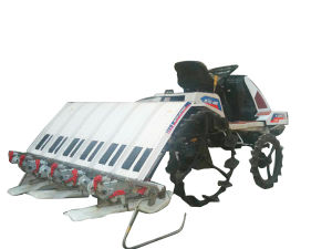 6-7 Rows The Latest High-Speed Ride-on Rice Transplanter