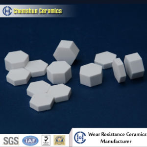 Abrasion Resistant Ceramic Hexagon Tile for Rubber Mat pictures & photos