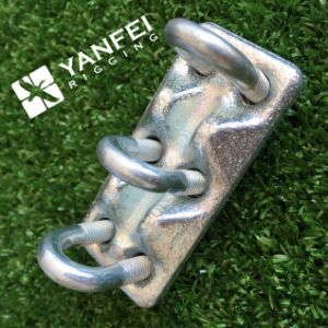 Zinc Plated Triple Type Wire Rope Clamp pictures & photos