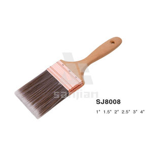 Hot Selling Sj8008 Flat Paint Brush pictures & photos