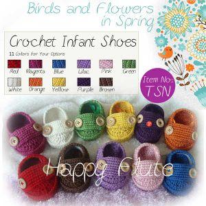 100% Handmade Baby Crochet Shoes