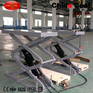 Bl-6108c Hydraulic Scissor Welding Manual Car Lifter pictures & photos