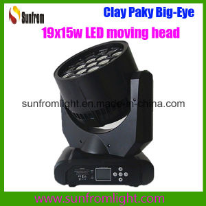 19PCS X 15W LED Moving Head Wash Big Eye Light Disco DJ Equipment pictures & photos