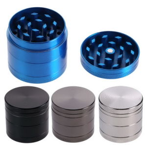 4 Layers Metal Tobacco Crusher Hand Muller Smoke Herb Grinder pictures & photos