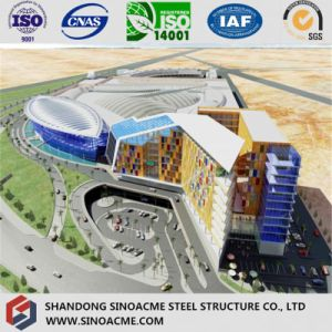 Steel Structure Modern Roof for Commercial Building pictures & photos