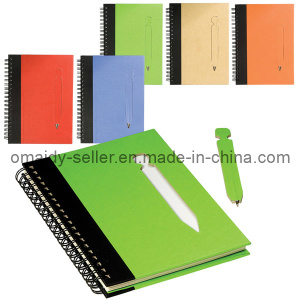 Recycled Notebook with Pen (OMD13086)