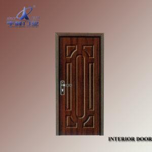 HDF Wood Door with PVC Film pictures & photos
