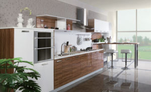 2017 Newest Style Popular UV Coating Kitchen Cabinets (zx-071)
