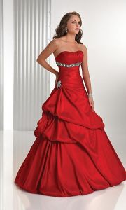 2015 Beaded Taffeta Fashion Prom Gowns (PD3010) pictures & photos