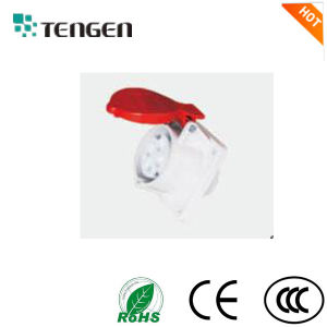 En/IEC Standard IP44 IP67 Panel Mounted 16A 32A 63A Industrial Socket pictures & photos