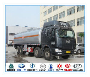 FAW 8X4 Truck with 29.4 Cbm (30m3) Fuel Tanker pictures & photos