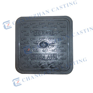 Anti-Theft Non-Slip Manhole Covers with Hinge and Lock