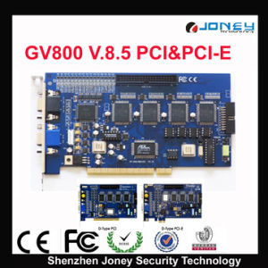 Gv DVR Card Gv600/Gv800/Gv1480 Version 8.5 PCI and PCI-E Option pictures & photos