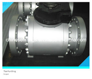 Forged Carbon Steel Flanged API 6D Ball Valve with CE pictures & photos
