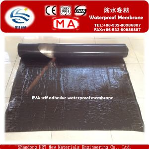 High Polymer Self-Adhered Waterproofing Membrane in Roll pictures & photos
