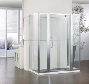 Swinging Shower Door with Side Panel+ Inline Hf-Wsp900 pictures & photos