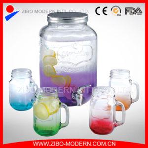 Glass Beverage Dispenser / Glass Juice Jars pictures & photos