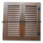 Customized High Quality UPVC Shutter Window pictures & photos