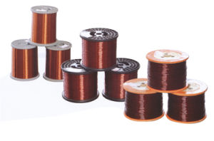 Qzy180 Polyester-Imide Copper Wire Winding Wire/ Enameled Wire