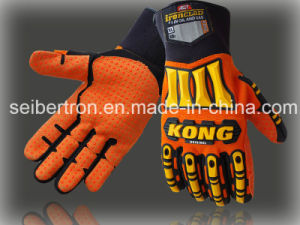 New Ironclad Kong Sdx2 Original Impact Protection Gloves - Orange Hi Vis Palm Gloves Mechanical Glove Mechanic Glove